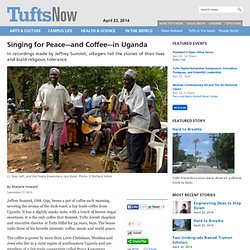 Singing for Peace and Coffee in Uganda