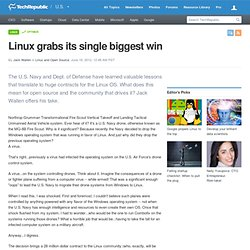 Linux grabs its single biggest win