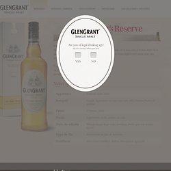 Single malt whiskey: Glen Grant 5 years old scotch whisky