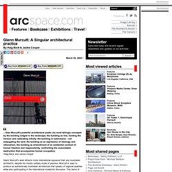 Glenn Murcutt: A Singular architectural practice