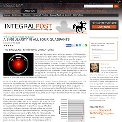 A Singularity in All Four Quadrants