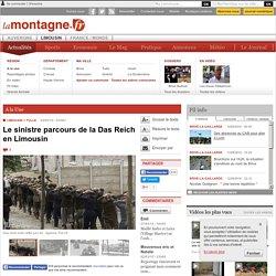 TULLE (19000) - Le sinistre parcours de la Das Reich en Limousin