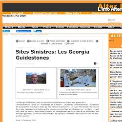 Sites Sinistres: Les Georgia Guidestones