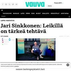 Jari Sinkkonen: Leikillä on tärkeä tehtävä