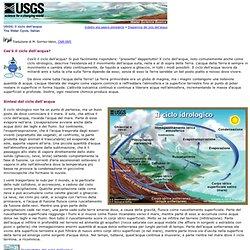 Ciclo naturale dell'acqua, dell'USGS