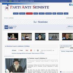 Partie antisioniste