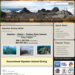 Sipadan Diving Package 4 Days 3 Nights