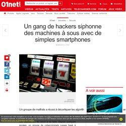 Un gang de hackers siphonne des machines à sous avec de simples smartphones
