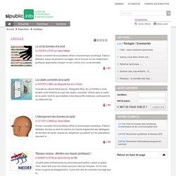 Site sur l'actualité juridique des SI