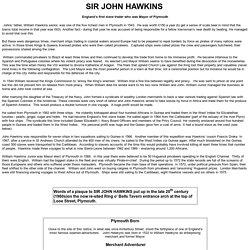 Sir John Hawkins biography