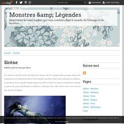 Sirène - Monstres & Légendes