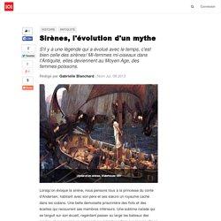 Sirènes, l'évolution d'un mythe