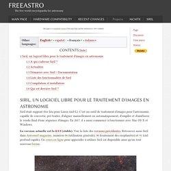 Siril - FreeAstro