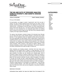 The Ins and Outs of Pedigree Analysis, Genetic Diversity, and Ge