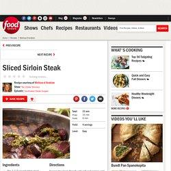 Sliced Sirloin Steak Recipe