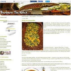 Sirop de pissenlits - Barbara-The-Witch
