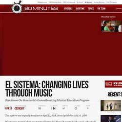 El Sistema: Changing Lives Through Music