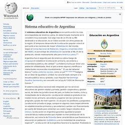 Sistema educativo de Argentina