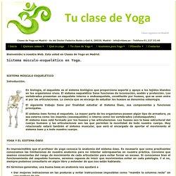 Sistema musculo esqueletico en Yoga