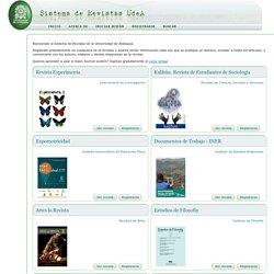 Sistema de Revistas UdeA