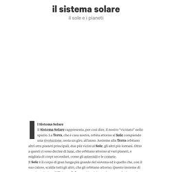 il sistema solare di Maria Cristina Fazio