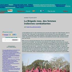 La Brigade rose, des femmes indiennes combattantes