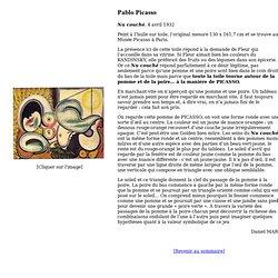 Site de l'A.R.T. : Pablo Picasso