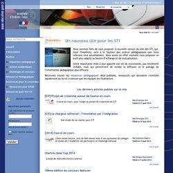 Résultat de la recherche - Site STI de l'académie d'Orléans-Tours