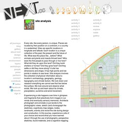 Site Analysis - NEXT.cc