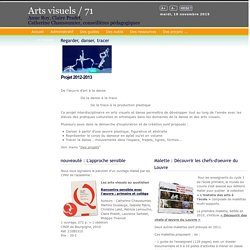 Site Arts visuels / 71 - Accueil