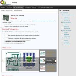 Site de la CCOG - Gestion Des Déchets