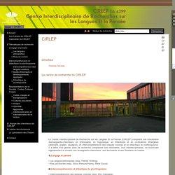 CIRLEP - Centre Interdisciplinaire de Recherche sur les Langues Et la Pensée