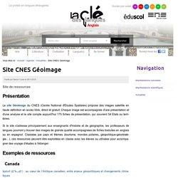 Site CNES Géoimage