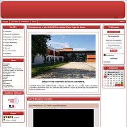 le site de la DP3 du collège Victor Hugo de Gisors