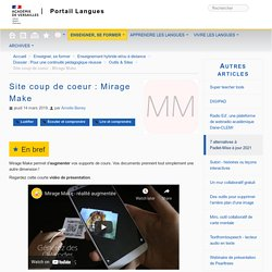 Site coup de coeur : Mirage Make