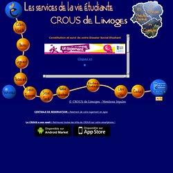 Site du CROUS de Limoges