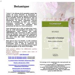 Site de Botanique - COURS