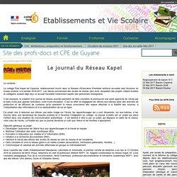 La création de journal du Réseau Kapel (Guyane)