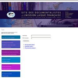 Site des documentalistes de l'OSUI/MLF