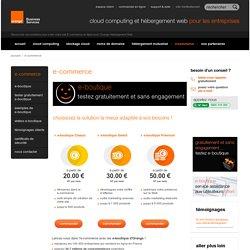Site E-commerce - E commerce - Commerce en ligne