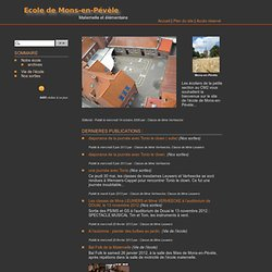 Site de l'école de Mons-en-Pévèle