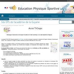 Site EPS de l'académie de la Guyane