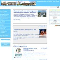 Site d'espagnol de l'académie de Limoges