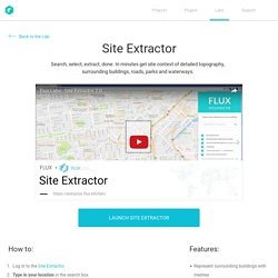 Site Extractor – Flux Labs