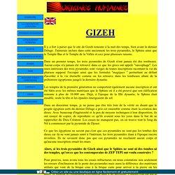 le site de Gizeh