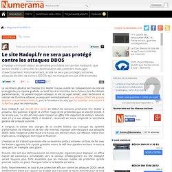 Le site Hadopi.fr ne sera pas protégé contre les attaques DDOS