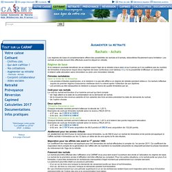 Site internet de la CARMF