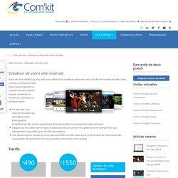 Site internet: création ou refonte de votre site web -