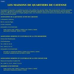 Site internet du CIJ Guyane - accueil