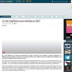 Le site Légifrance sera refondu en 2017